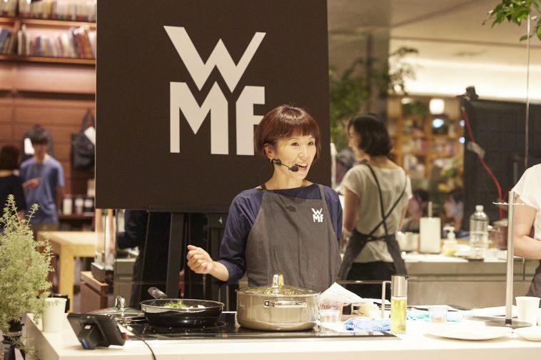 毎日の料理をより美味しく、ヘルシーに! ワタナベマキさんに習う WMF「フュージョンテック ミネラル」を使ったお料理教室 イベントレポート