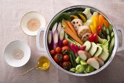 【9月22日(日)開催】無水調理とガラスープで野菜を美味しく! ワタナベマキさんによる料理教室